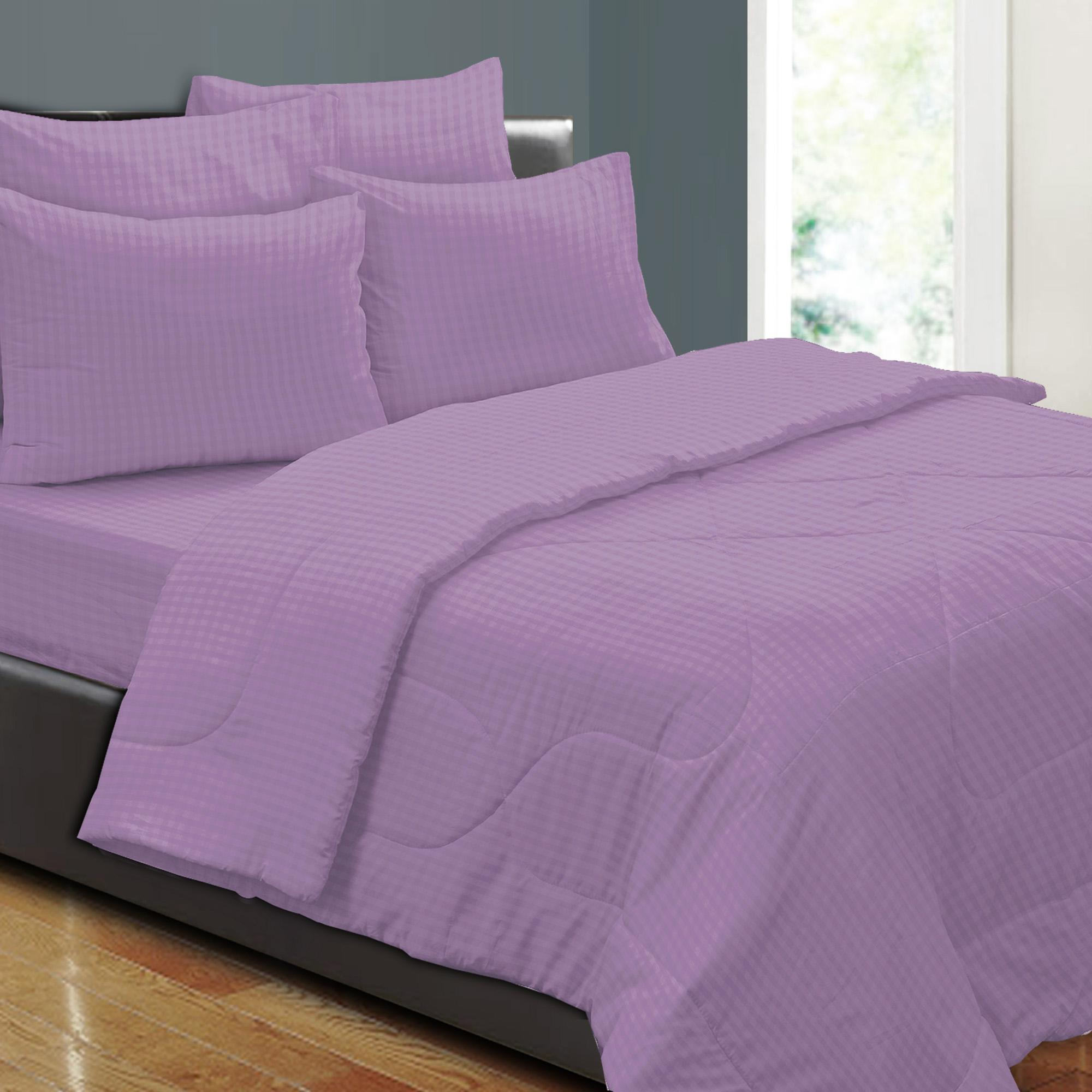 Essina 100% Cotton 620TC Fitted Bed sheet set SIMPLICITY LAVENDER - Super Single size