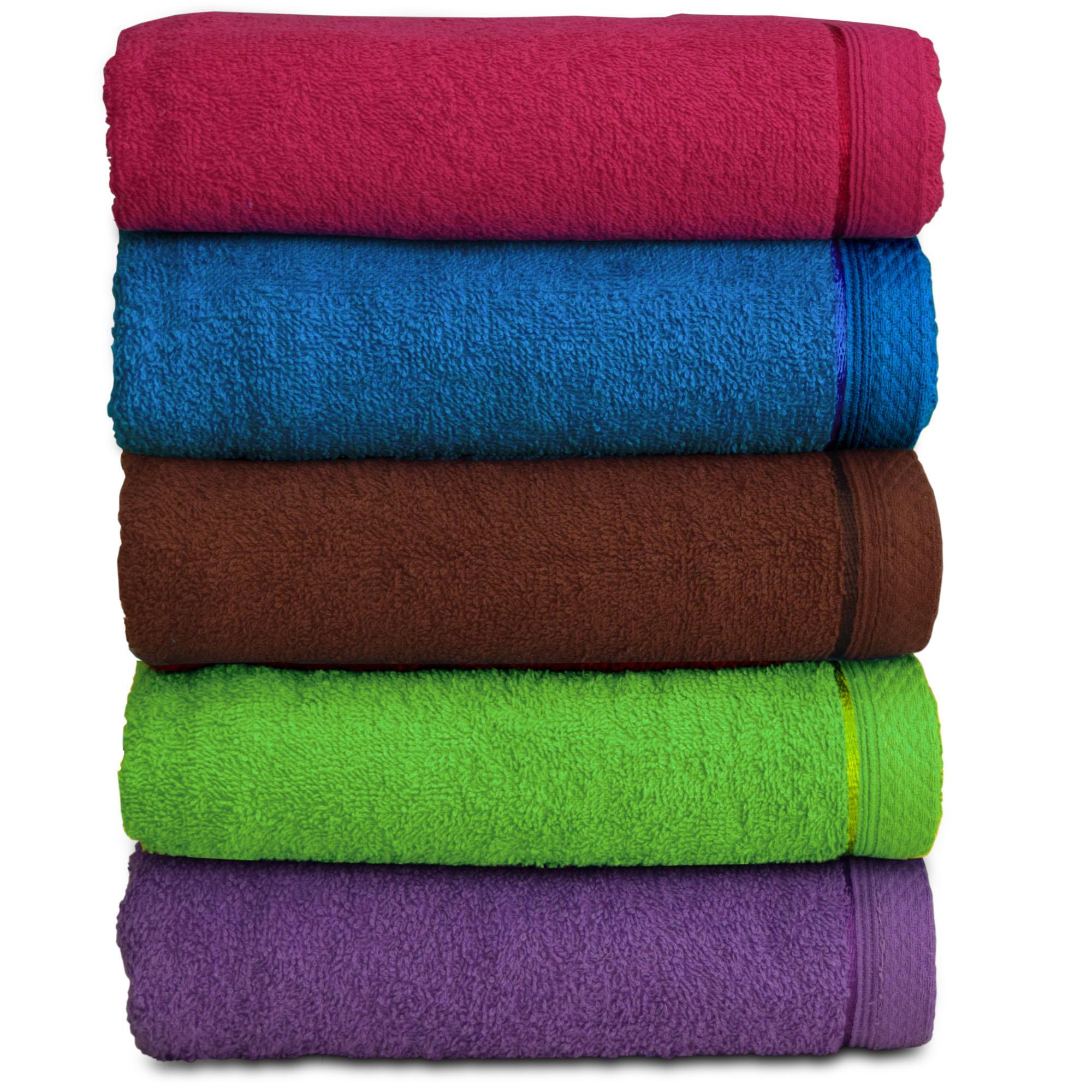 [SET OF 2 PCS] Essina Tobby 400G Soft Cotton Bath Towel 70cm x 140cm - 2 PIECE